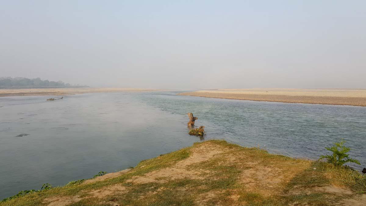 Rapit river at sunrise