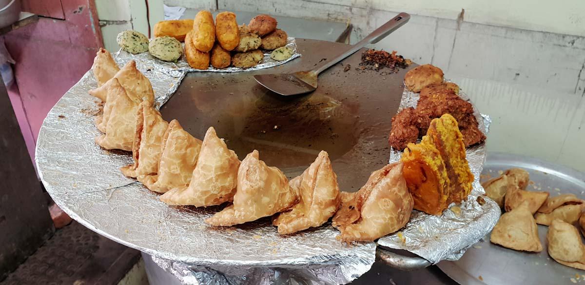 Street food in Kathmandu