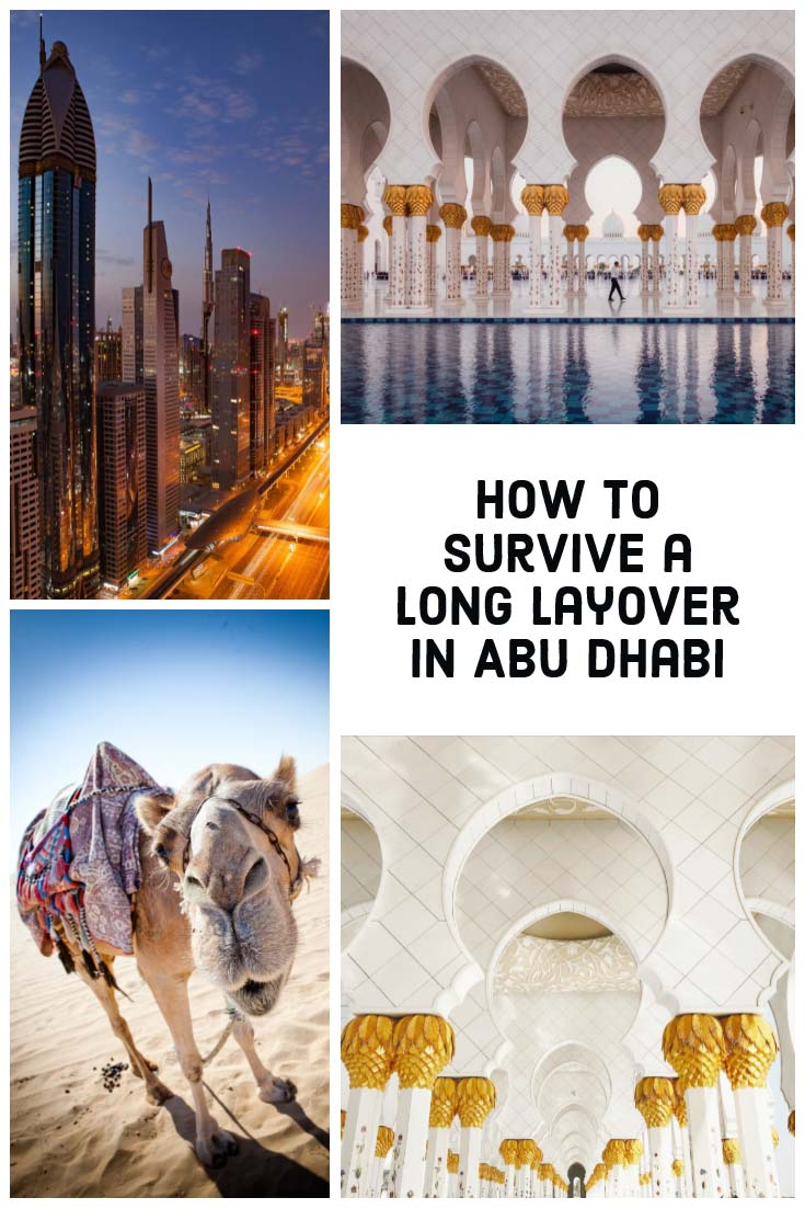 How to survive a long layover in Abu Dhabi