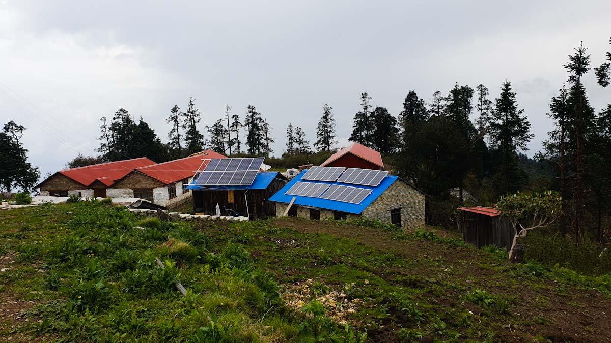 Mohare Danda Trek summit village