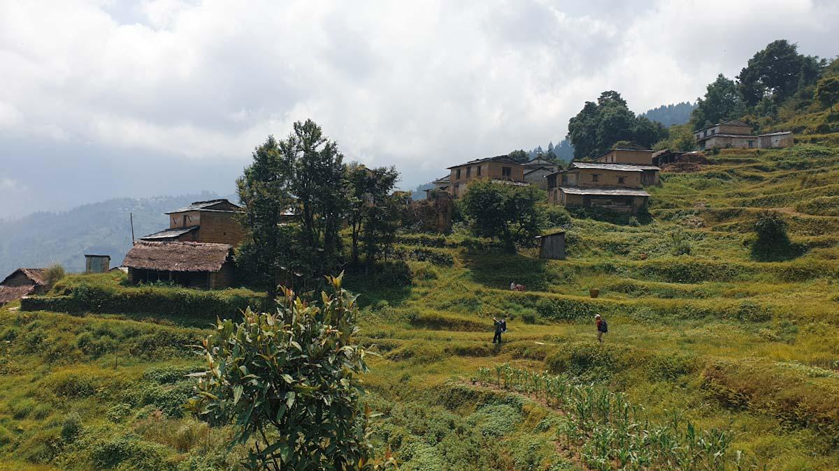 Village trekking Nepal
