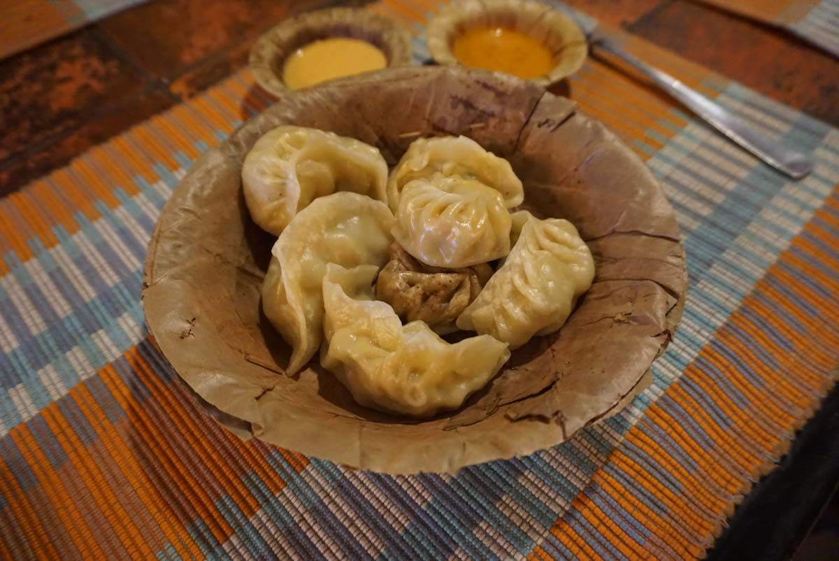 Delicious momos Nepal