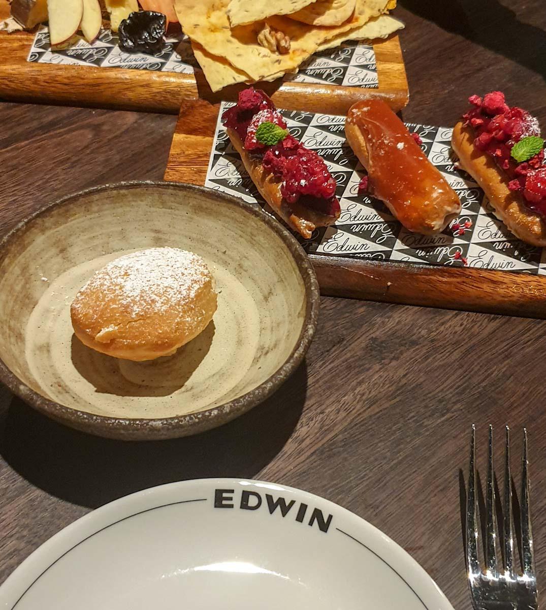 Dinner at Edwins