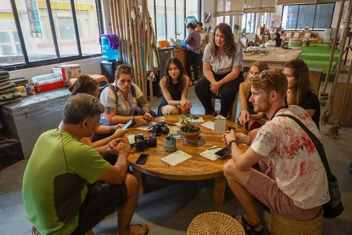 SocialTours momo cooking class briefing