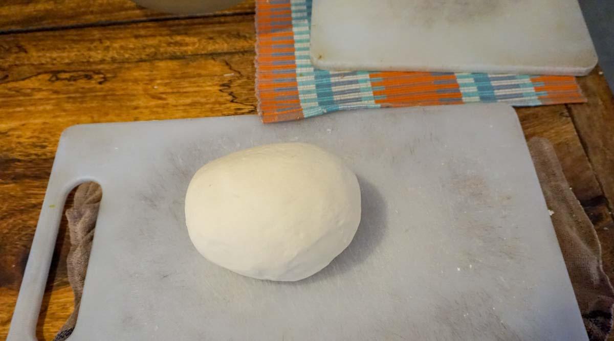 momo dough at SocialTours Nepal