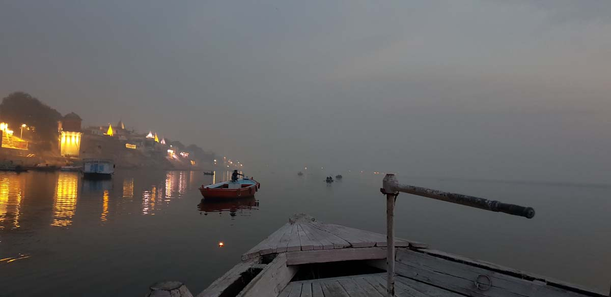 Early morning cruise Varanasi