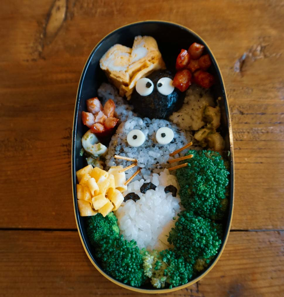 Beautiful bento box designed by Jean