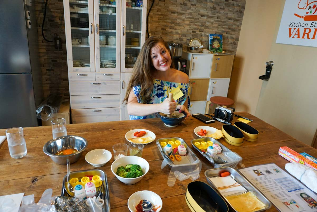 Brittany cooking bento box